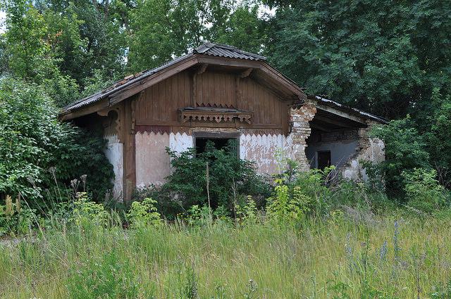 Здание на ст. Пономарёво