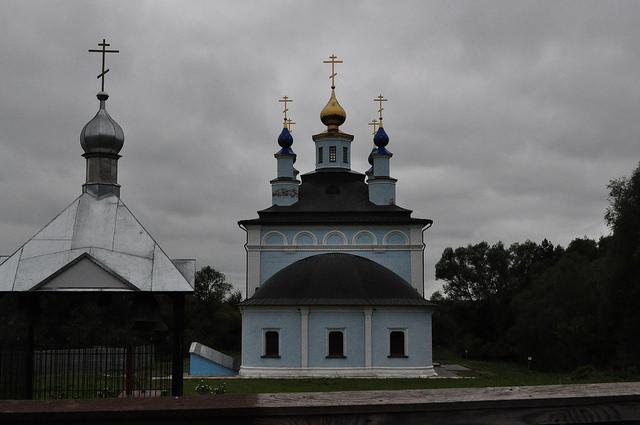 Введенский храм в Жабыни