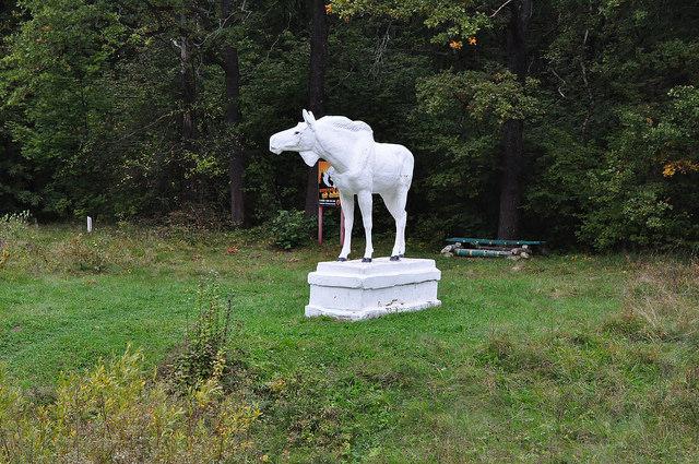 Статуя лося, Сергеевка