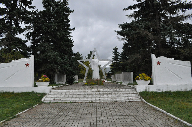 Мемориал в Корекозево
