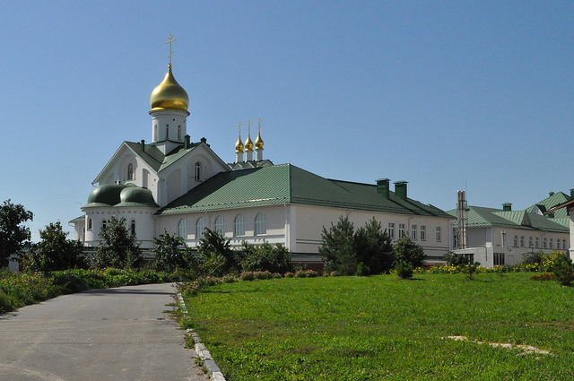 Здания Коломенской православной духовной семинарии