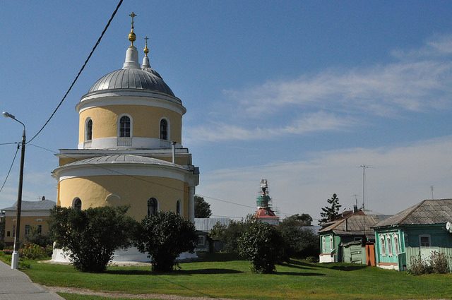 Церковь Воздвижения Креста Господня в Коломне