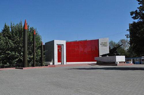 Тактические ракеты, музей боевой славы, гаубица Б-4, Мемориальный парк, Коломна