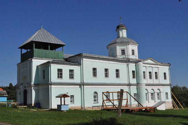 Церковь Сергия Радонежского (Горы)