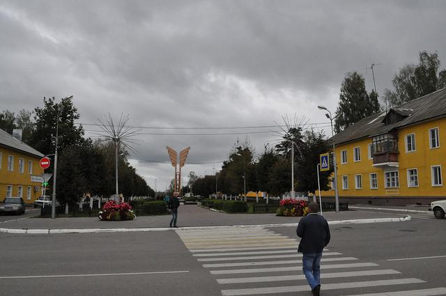 ул. Ленина в Суворове