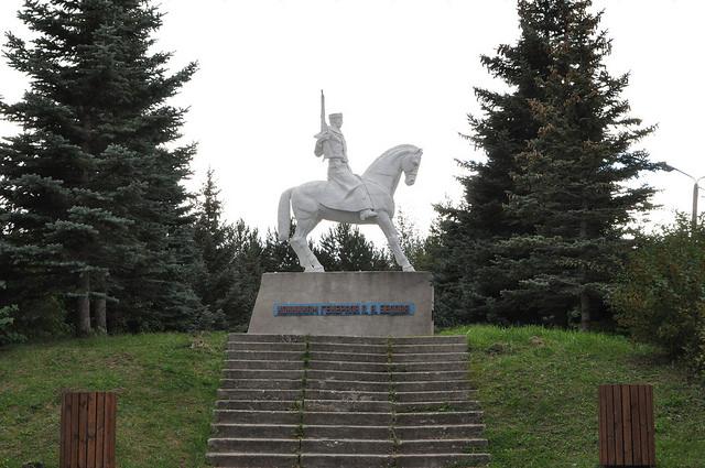 Памятник кавалерии генерала Белова у Одоева