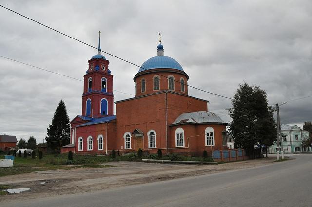 Церковь Троицы Живоначальной в Одоеве