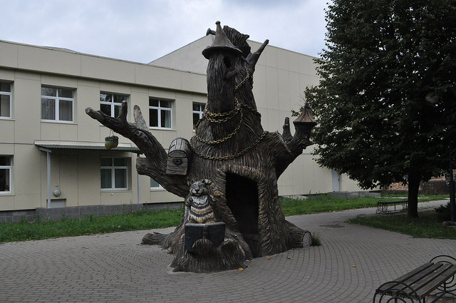 Сказочный дуб, Козельск