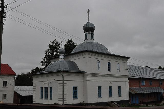 Знаменский храм в Жабыни