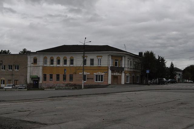 Одоев, центр