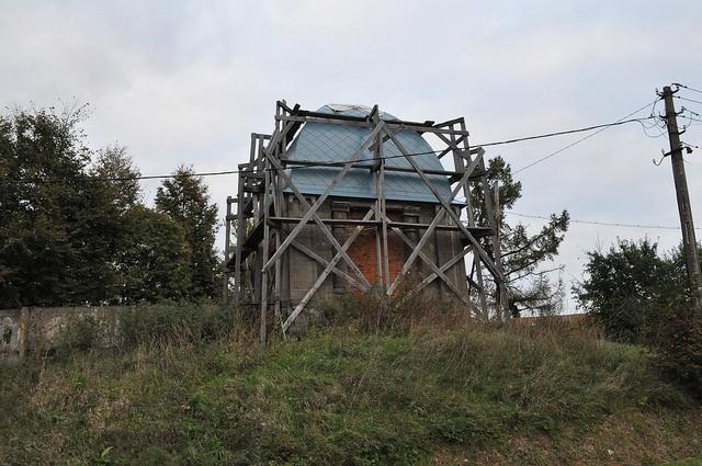 Солдатская часовня в Чекалине
