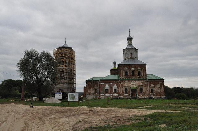 Свято-Успенский Шаровкин монастырь в Ильинском
