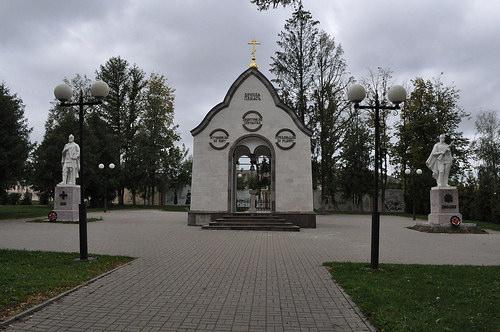 Часовня и памятники воинам, Козельск