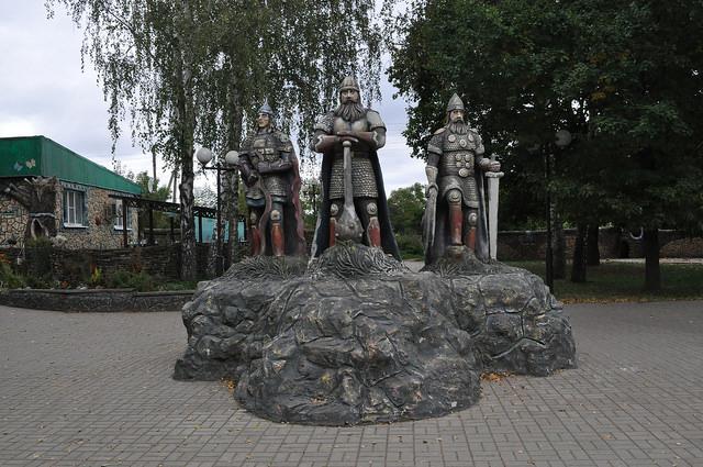 Три богатыря, Козельск
