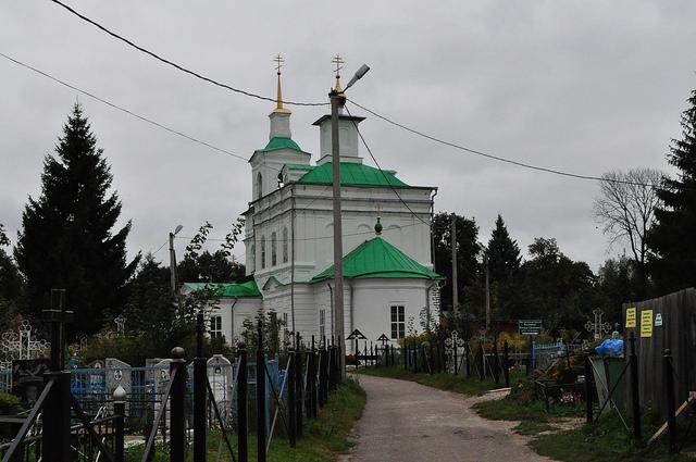 Церковь Троицы Живоначальной в Белёве