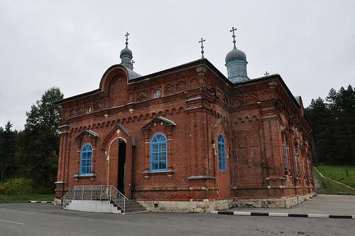 Макариевский храм, Жабынь