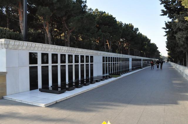 Аллея шахидов (мемориал погибших 20 января 1990 г.), Баку