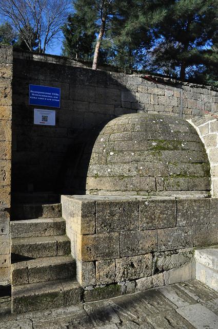 Водохранилище в крепости Нарын-Кала