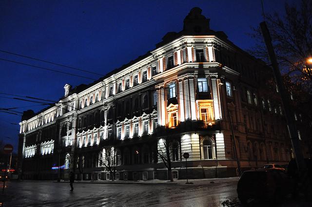 Управление Приволжской железной дороги, Саратов