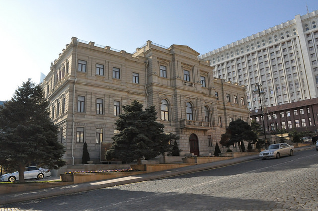 Государственный музей искусств (новое здание) (Баку)