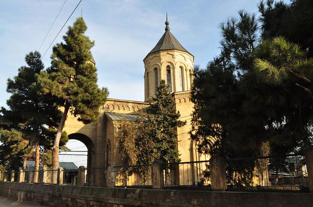 Армянская церковь Сурб Аменапркич в Дербенте