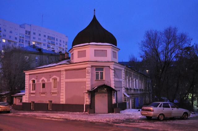 Бывший дом причта Казанской церкви, Саратов