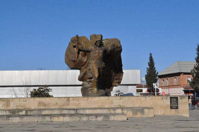 Мемориал, Центральная пл., Ленкорань