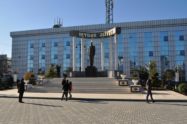 Пам. Гейдару Алиеву, Ленкорань