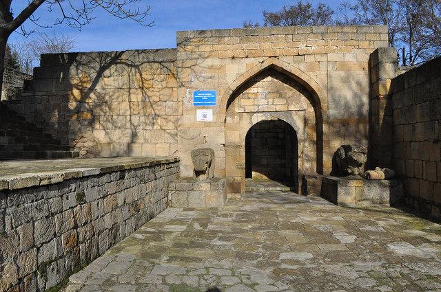 Ханский дворец, Нарын-Кала, Дербент