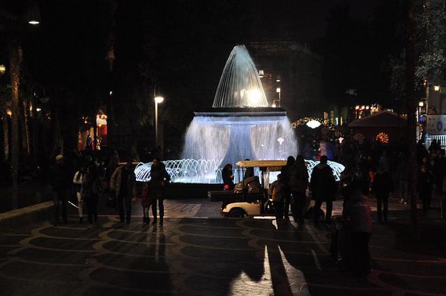 Фонтан в Баку