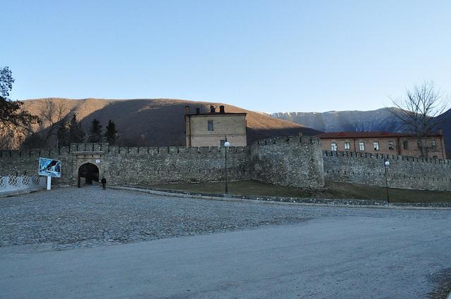 Нухинская крепость, Шеки