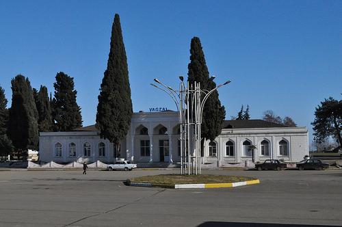 Вокзал ст. Ленкорань