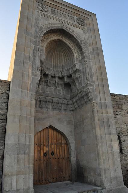 Ворота Мурада, дворей Ширваншахов, Баку