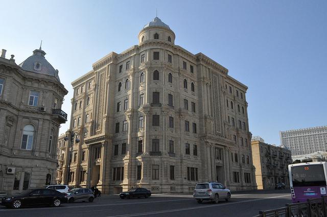 Фонд Гейдара Алиева, Баку