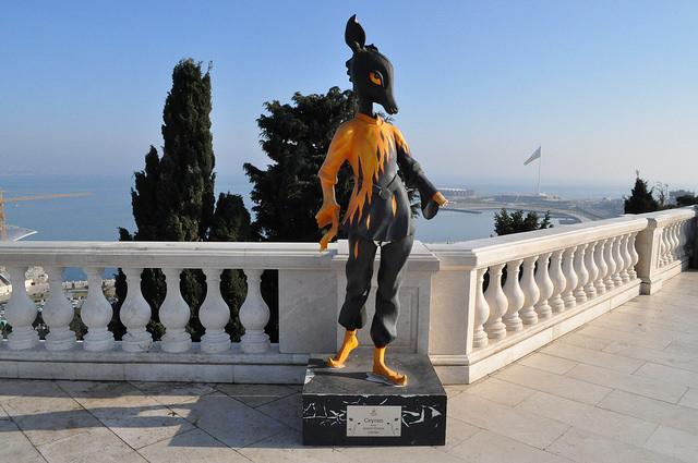 Джейран в Баку