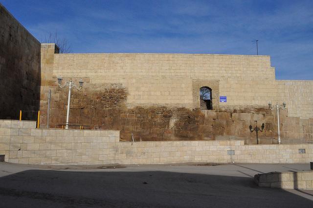 Крепостная стена, Дербент