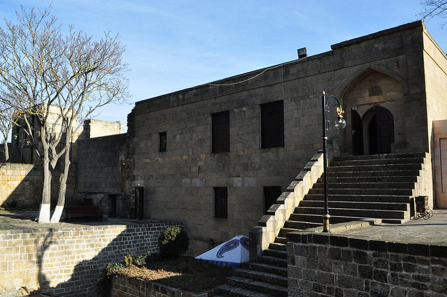 Комендантский дом (диван-хана) в крепости Нарын-Кала