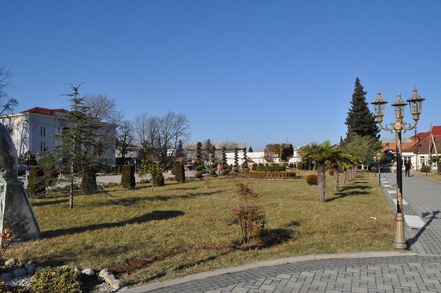 Центральная площадь, Ленкорань