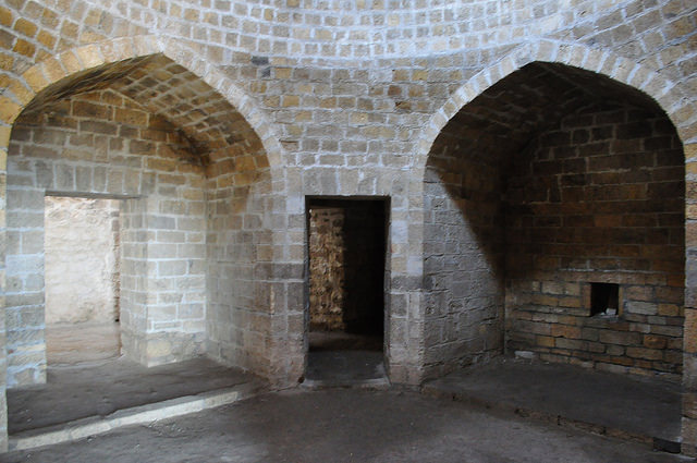 Ханские бани в крепости Нарын-Кала