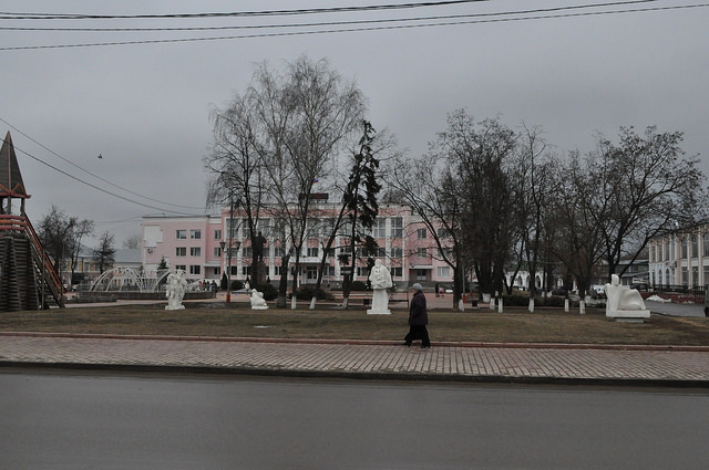 Пл. им. 1100-летия Мурома и администрация
