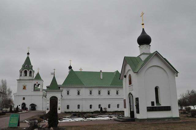Часовня великомученика Георгия Победоносца, Покровский храм, Настоятельский корпус, Муром