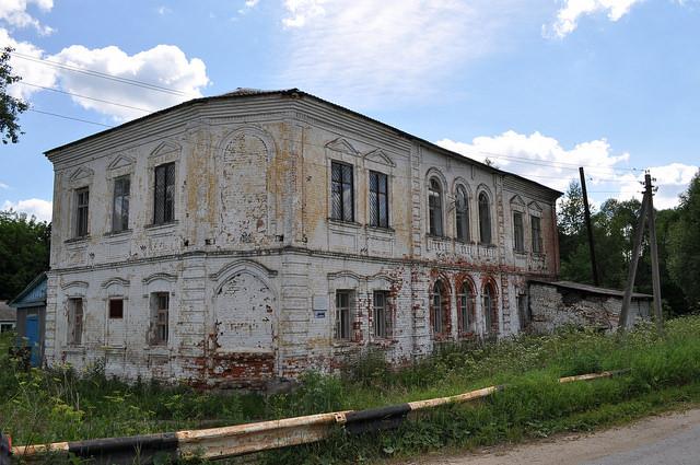 Дом, в котором останавливался Лев Толстой, Манаенки