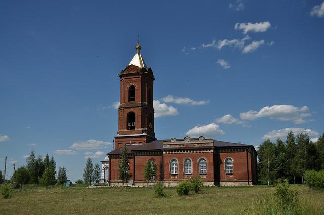 Церковь в Богородицком