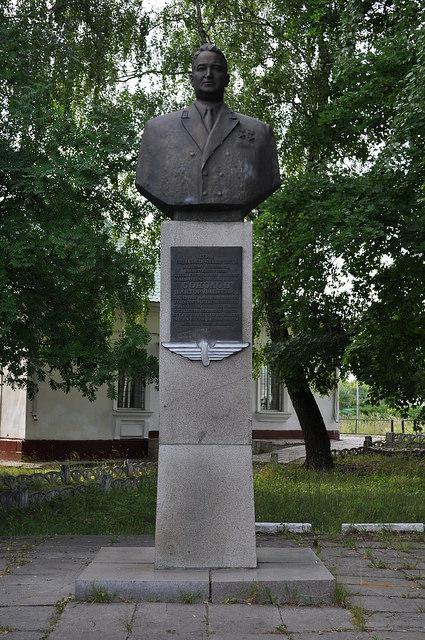 Памятник дважды Герою Социалистического Труда Соколову Виктору Фадеевичу (Куркино)