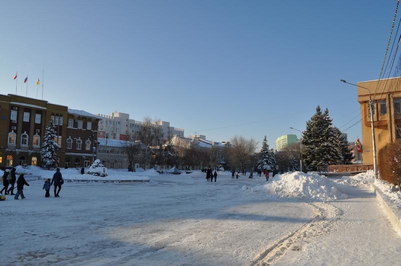 Площадь Ленина, Энгельс