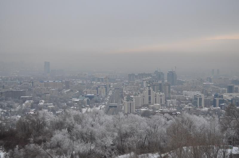 Алматы с Кок-Тобе