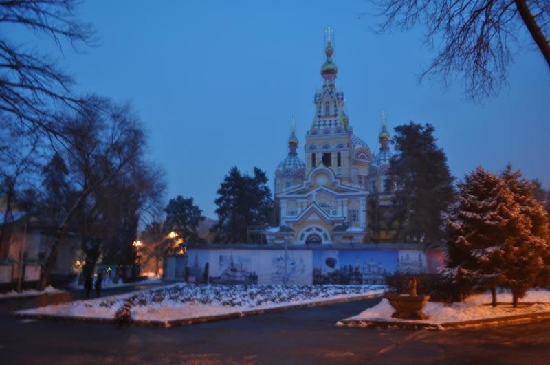 Свято-Вознесенский кафедральный собор, Алматы