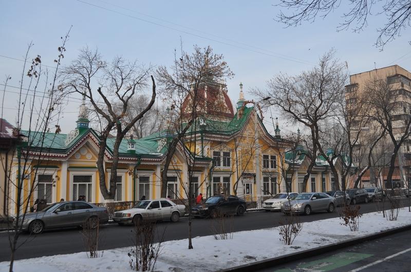 Дом тканей Кызыл-Тан