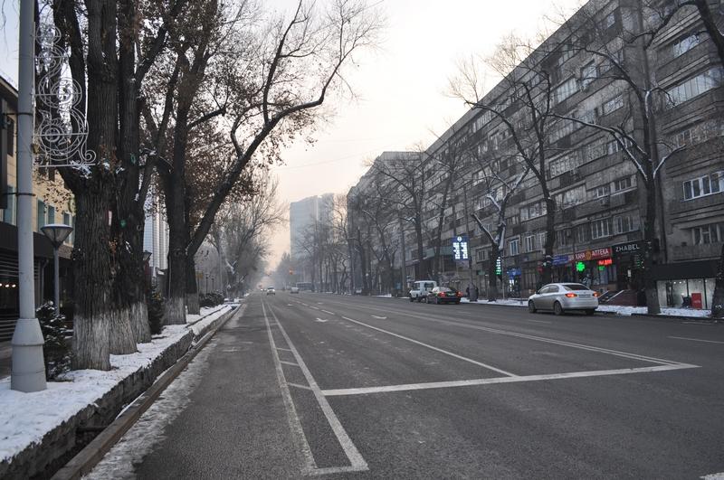 Улица Кунаева