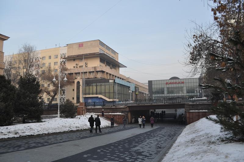 Алматы, проспект Жибек-Жолы